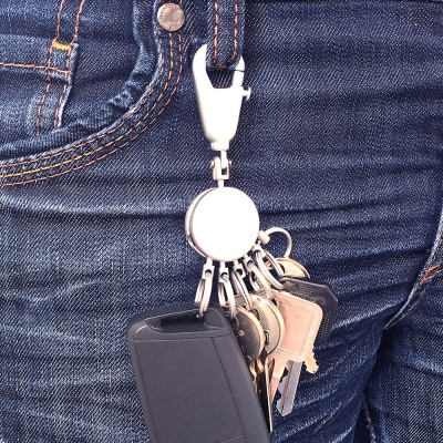 [트로이카] PATENT 6 RING 키홀더 (KYR60/GM)