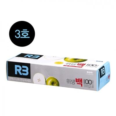 [코멕스산업] (R3) 위생백 3호 (100매) 402317
