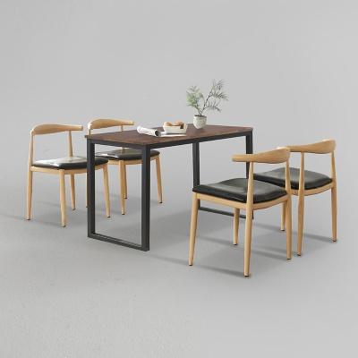 디보엘 식탁 세트B 1400 + 의자 4개포함 (착불)