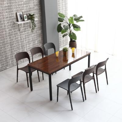 멜로우 1600 스틸 카페 테이블
