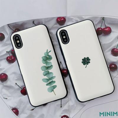 아이폰X/XS 써니 초록이 카드케이스