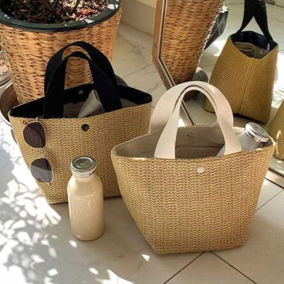 트리 라탄 숄더백 왕골가방 여름가방