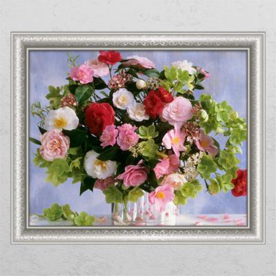 cl801-재물이담긴꽃바구니2_창문그림액자