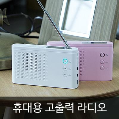 아이담테크 BOOM-R6 멀티플레이어 라디오/MP3/스피커
