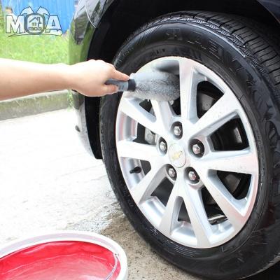 타이어 휠 틈새 청소 솔 휠세척솔 세차 용품 청소