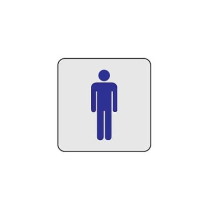 화장실 31OZ04 안내 표지판 남자 toilet 신사 사인 O