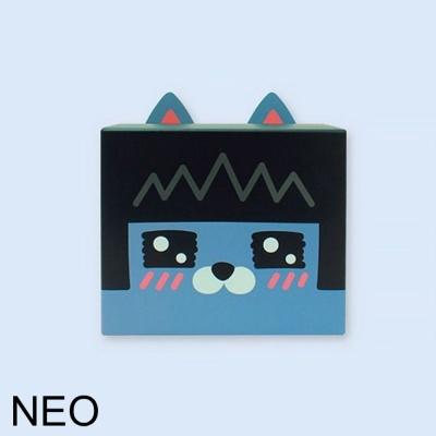 카카오프렌즈 DIY 기프트 종이 박스 1개 네오