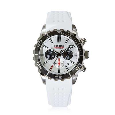 [레노마] 다이버 손목시계(200M방수) 화이트 RE-550WH