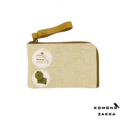 Komono Zakka Card Pouch - 케익과 비스켓
