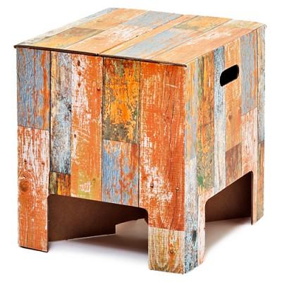 [원더스토어] 더치 디자인 북유럽 스툴 의자 테이블 Scrapwood