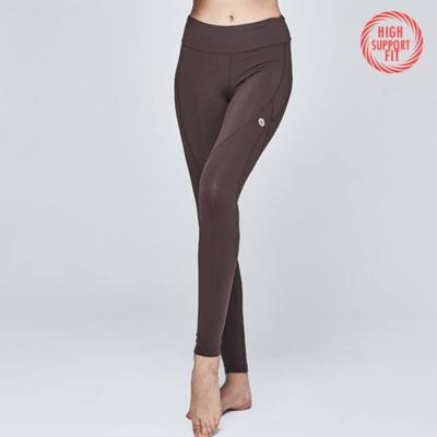[PL3118 브라운]여자 필라테스운동복 겸용 서플렉스 요가바지