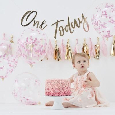 1살 생일 패키지 핑크 Cake Smash Kit GR