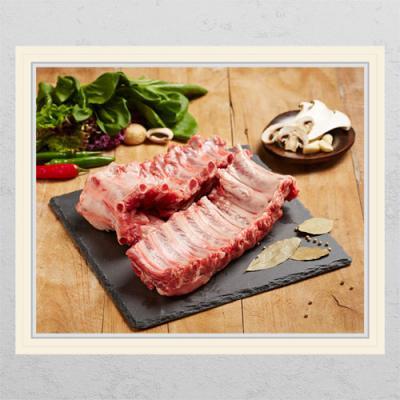 il252-신선한돼지고기2(등뼈)_창문그림액자