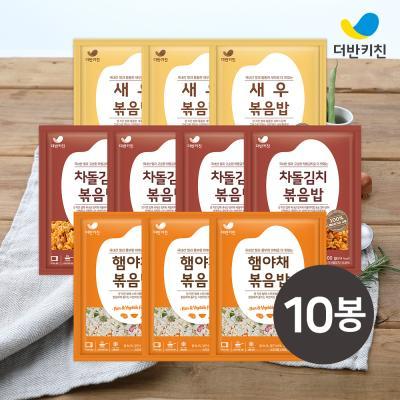 [더반키친] 햄야채3+새우3+차돌김치4