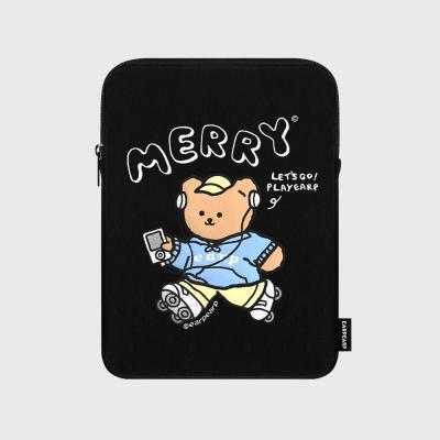 Merry skate-black(아이패드 파우치)
