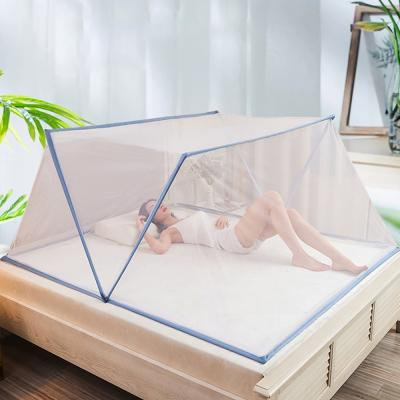 원터치 침대 모기장 텐트 접이식 덮장 싱글 퀸 3size