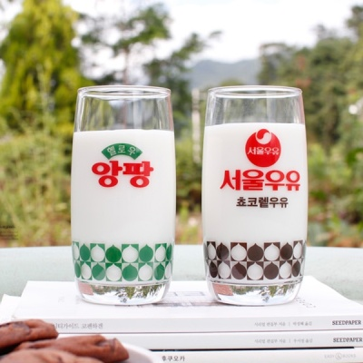 [2HOT] 서울우유 레트로 굿즈 라운드컵 (택1)