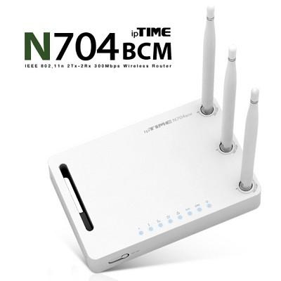 (아이피타임) ipTIME N704BCM 유무선공유기