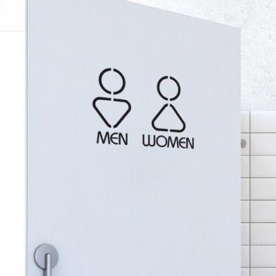 화장실 포인트 스티커 토이콘