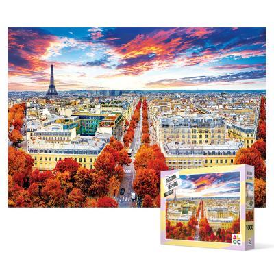 1000피스 직소퍼즐 - 파리의 가을