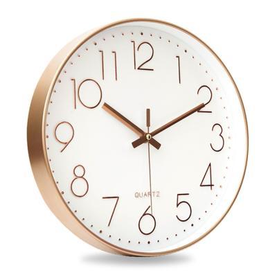 로즈골드 인테리어 무소음 저소음 벽시계 벽걸이 시계