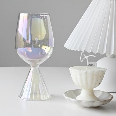 타이니 블랑크 홀로그램 와인잔 컵 390ml
