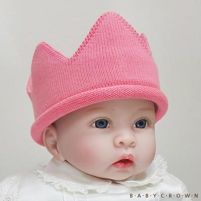 [Baby Crown] 베이비크라운 아기왕관 모자 쁘띠 (피치)
