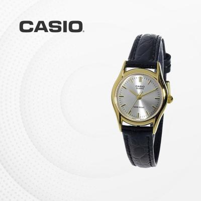 카시오 여성 여자 가죽 패션 손목시계 LTP-1094Q-7A