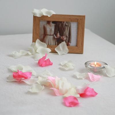 프리미엄 조화장미꽃잎 (약 150개입)