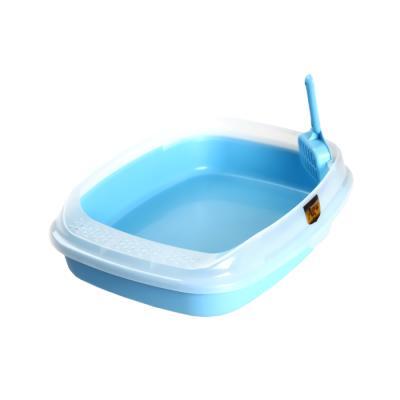 마칼 스몰캣 평판화장실 블루