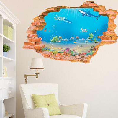 물속 물고기 3D스티커