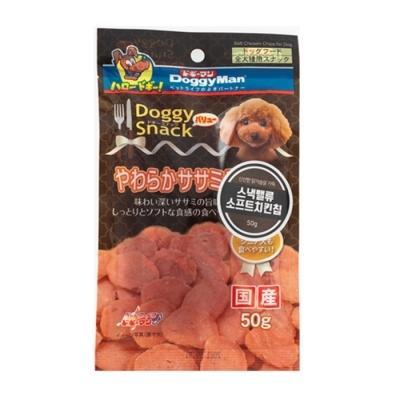 도기맨 스낵밸류 소프트 치킨 칩 50g 강아지간식
