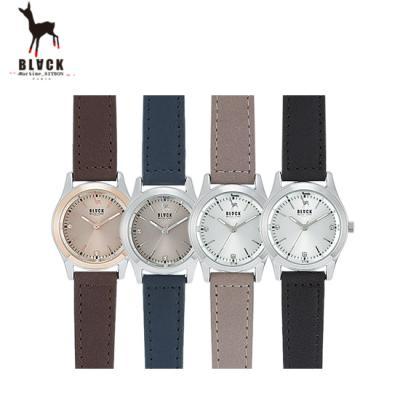 [블랙마틴싯봉] 남성 가죽 손목시계 BKL1650M