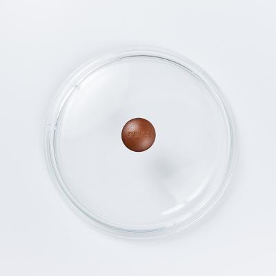 베카 독일 시즈닝 무쇠 주물 유리 뚜껑 24cm