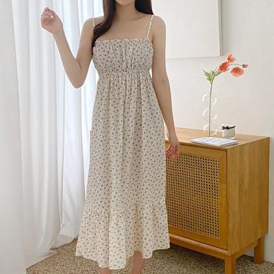 에코 여름홈웨어 순면 민소매 원피스잠옷