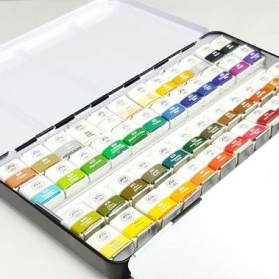 고체물감 48색 수채물감 전문가용 물감