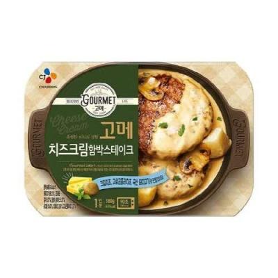 [CJ제일제당] 고메 치즈크림함박스테이크 180gx10개