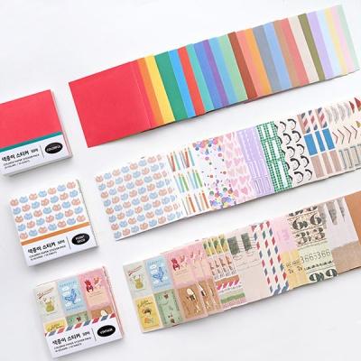 색종이 스티커 팩 (50매)
