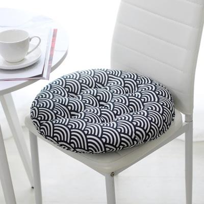 쿠지 부채꼴 원형방석 푹신 쿠션 의자 스툴방석