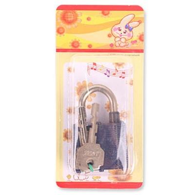 열쇠자물쇠45A(색상램덤)4.5x7x2cm