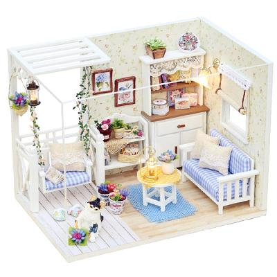 [adico]DIY 미니어처 하우스 - 그네가 있는 거실