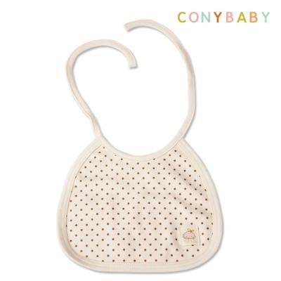 [CONY]오가닉도트턱받이(신생아턱받이/아기턱받이)