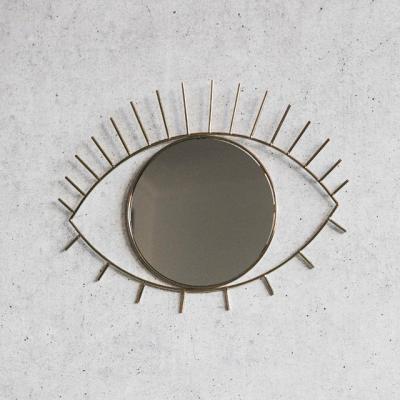 [도이] 싸이클롭스 벽걸이 거울 골드 라지