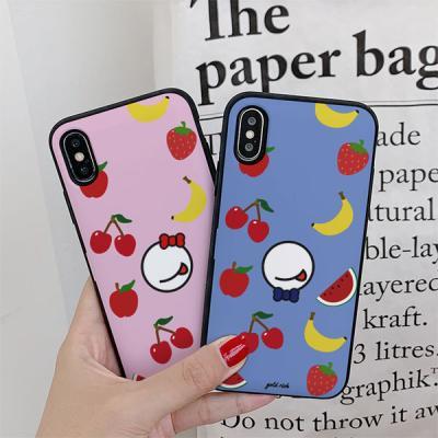 아이폰7플러스 골드리치 과일 카드케이스