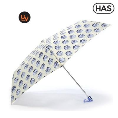 [HAS] 3단 슬림 수동 UV우산_산토리니블루 HS3SM3650(67)