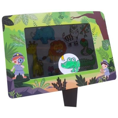 정글속동물 스크린북(5인세트)