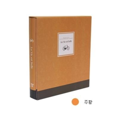 [드림산업] 라비에벨볼트접착앨범50매 주황 [권1] 377221