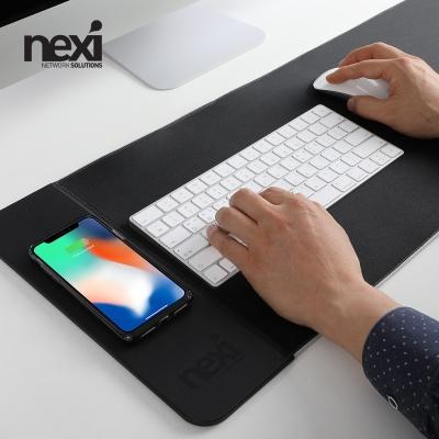 (NEXI) 넥시 고속무선충전 마우스 장패드 (NX1010)
