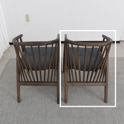 벨루 고무나무 원목 식탁 의자