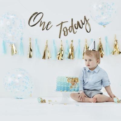 1살 생일 패키지 블루 Cake Smash Kit GR